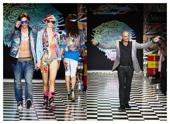 ed hardy christian audigier spring 2009 los angeles fashion week runway men women
